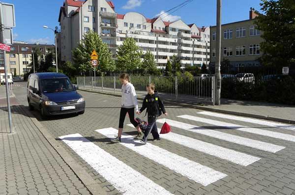 Przechodzenie przez ulicę